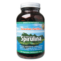 Hawaiian Pacifica Spirulina - Capsules - Green Nutritionals