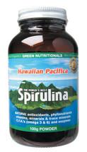 Hawaiian Pacifica Spirulina - Marine Magnesium Powder 100g - Green Nutritionals