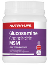 NutraLife Glucosamine, Chondroitin Joint + MSM 1kg