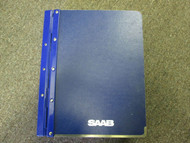 1985-1995 Saab 9000 Body 4 Door Interior Equipment AC Airbag Service Shop Manual