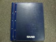 1979-1988 Saab 900 Fuel System Injection Engine Basic Engine Service Manual OEM