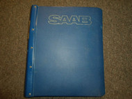 1979 80 81 1982 Saab 900 Specifications Engine Service Repair Shop Manual OEM