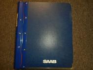 1985 87 90 1996 Saab 9000 Diagnosis Fault Tracing Technical Data Service Manual