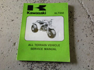 1982 KAWASAKI KLT250 KLT 250 Service Repair Shop Manual FACTORY A1 99963005001 x