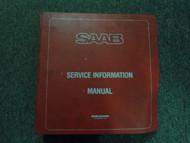 1981 82 83 1984 Saab 99 900 Service Information Supplement Shop Manual OEM DEAL