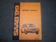 1969 72 73 1974 Saab 99 Service Repair Manual FACTORY OEM BOOK WATER DAMAGE