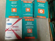 1995 Dodge Ram Truck DIESEL 1500 2500 3500 Service Shop Repair Manual SET 5 BKS