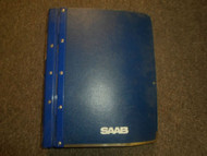 1986 87 89 1991 Saab 9000 Suspension Wheels Airbag Body 4 Door Service Manual