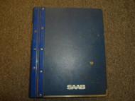 1979 81 83 85 1991 Saab 900 Automatic Manual Transmission Brakes Service Manual