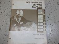 1971 Evinrude Accessories Parts Catalog Preliminary Edition 4761 OEM Boat