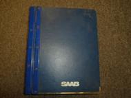 1985 86 87 89 1990 Saab 9000 Transmission Manual Automatic Service Manual SET