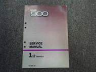 1985 86 1987 Saab 900 1:2 Service Repair Shop Manual FACTORY OEM BOOK 85 87 DEAL