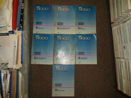 1986 SAAB 9000 Technical Inspection Electrical Service Repair Manual 7 VOL SET