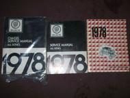 1978 Buick CENTURY ELECTRA ESTATE WAGON Service Repair Shop Manual SET 3 VOL