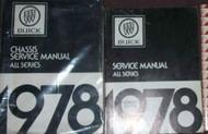 1978 Buick LESABRE SKYHAWK REGAL RIVIERA SKYLARK Service Repair Shop Manual SET