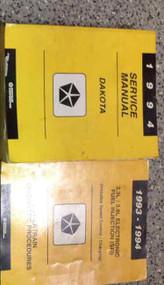 1994 Dodge Dakota Truck Service Repair Shop Manual SET W POWERTRAIN DIAGNOSTICS