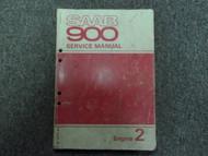 1979 1980 Saab 900 Engine 2 Service Repair Shop Manual FACTORY OEM BOOK 79 80