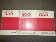 1979 1980 Saab 900 Manual Automatic Transmission Engine Service Manual OEM