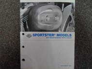 2004 Harley Davidson Sportster Parts Catalog Manual FACTORY OEM BOOK 04 NEW X