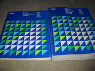1981 PLYMOUTH MOPAR GRAN FURY Workshop Service Shop Repair Manual Set OEM Book