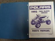 1993 POLARIS Trail Blazer W937221 Parts Catalog Manual FACTORY OEM BOOK 93