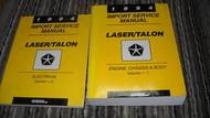 1994 EAGLE TALON & PLYMOUTH LASER Service Shop Repair Manual Set OEM 2 VOLUME