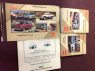 1988 GMC TRUCK RVGP R V G P RVG/P Service Shop Manual SET W EWD + UNIT + MORE
