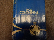 1996 LINCOLN CONTINENTAL Service Shop Manual FACTORY OEM DEALERSHIP BOOKS x