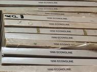 1990 FORD ECONOLINE VAN Electrical Wiring Diagrams Troubleshooting Manual EVTM