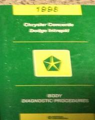 1998 CHRYSLER CONCORDE & DODGE INTREPID Body Diagnostics Procedures Shop Manual