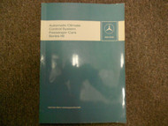 1976 MERCEDES Automatic Climate Control System Passenger Cars Series 116 Manual