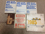 1985 Ford F-150 250 350 BRONCO ECONOLINE Truck Service Shop Repair Manual Set 85