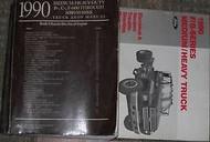 1990 FORD F B C 600-8000 B600 B7000 C600 C8000 TRUCK Shop Service Repair Manual