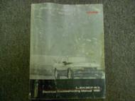1990 Acura Legend Electrical Service Repair Shop Manual FACTORY OEM BOOK 90 WORN