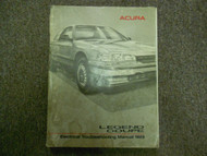 1989 Acura Legend Coupe Electrical Troubleshooting Manual FACTORY OEM WORN 89