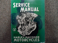 1945 1946 1947 Harley Davidson Big Twin Service Repair Shop Workshop Manual NEW