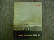 1989 Acura Legend Electrical Troubleshooting Shop Manual FACTORY DAMAGED OEM 89