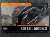 2002 Harley Davidson Softail Owners Manual FACTORY DEALERSHIP OEM BOOK USED