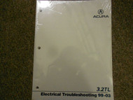 1999 01 02 2003 Acura 3.2 TL Electrical Service Repair Shop Manual FACTORY NEW X