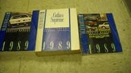 1989 Oldsmobile CUTLASS SUPREME Service Shop Repair Manual Set 89 DEALERSHIP OEM