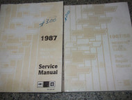 1987 Chevy MEDIUM DUTY Truck Service Shop Repair Book Manual 87 SET FACTORY X
