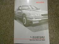 1989 Acura Legend Coupe Service Repair Shop Manual FACTORY OEM BOOK 89 x