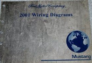 2001 FORD MUSTANG Electrical Wiring Diagrams Service Shop Repair Manual WATER