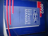 1992 GMC SAVANA CHEVY EXPRESS G Van Shop Service Repair Manual OEM FACTORY x