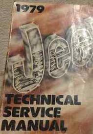 1979 JEEP CJ-7 CJ7 CJ SCRAMBLER CHEROKEE WAGONEER Service Shop Repair Manual NEW