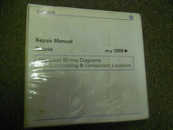 1999 00 01 02 VW Cabrio EWD Troubleshooting Component Repair Manual 1ST EDITION