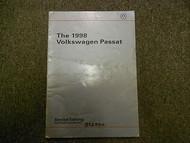 1998 VW PASSAT Service Training Self Study Program Manual FACTORY OEM DEAL 98