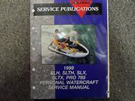 1999 Polaris SLH SLTH SLTX PRO 785 Service Repair Shop Manual FACTORY OEM BOOK