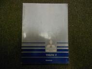 1989 MITSUBISHI Van Wagon Service Repair Shop Manual Volume 2 Electrical OEM x