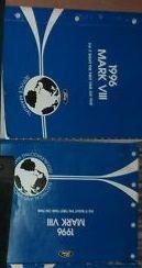 1996 LINCOLN MARK VIII Service Shop Manual Set OEM 96 FACTORY OEM BOOKS x